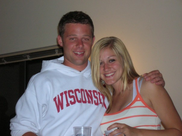 Bennet and I circa 2006. We look so young!